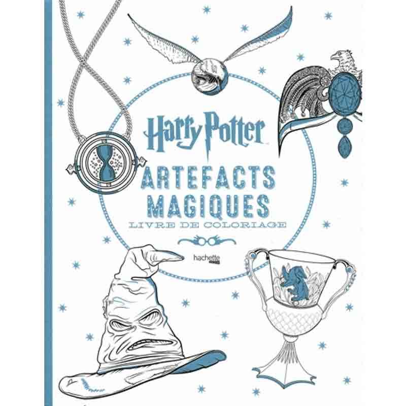 Artefacts Magiques Livre De Coloriage Harry Potter
